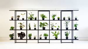 this shelf automatically waters your plants co design