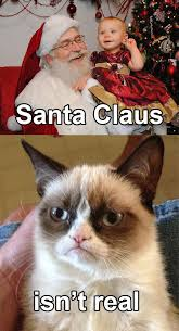 Santa Meme - santa grumpy cat know your meme