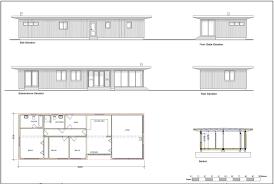 flat roof house drawing u2013 modern house