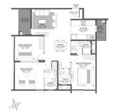 The Azure Floor Plan by Godrej Azure Omr By Godrej Properties Ltd In Chennai South