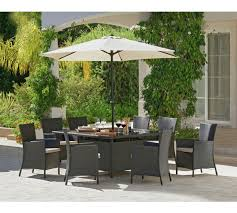 Buy Bali Rattan Effect  Seater Patio Furniture Set Brown At - Rattan furniture set