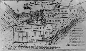 Newark Map Puritans The North Newark