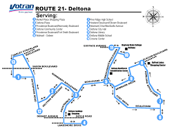 Holiday Florida Map by Route Details