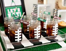 football party decorations bowl party decor diy craftbnb