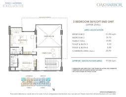 Naia Terminal 1 Floor Plan by Oak Harbor Residences Dmci Resort Inspired Condo