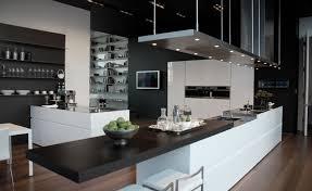 interior design kitchen modern kitchen hi tech style design kitchen island combined with a