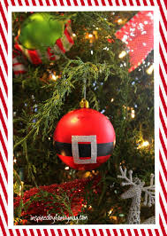 easy diy santa ornament inspired by family