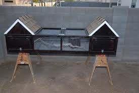 Backyard Quail Pens And Quail Housing by What About A Rabbit Hutch To Keep Quail Backyard Chickens