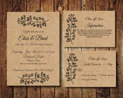 Rustic Invitations Simple Rustic Wedding Invitations Vertabox Com