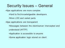 ajax security issues kim giglia csc ppt video online download