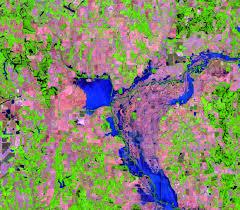 Illinois Flooding Map by Illinois Indiana Usa Earthshots Satellite Images Of