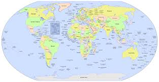 Vector World Map Vector World Map A Free Accurate In Format Within With Names