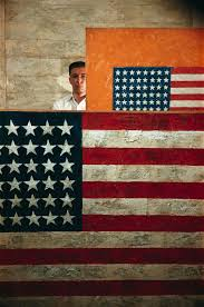 Jasper Johns Three Flags Dan Budnik Dan Budnik December 2015 Exhibition Of 30