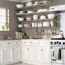 shelving ideas for kitchens kitchen wall shelves platinum elfa kitchen wall the container
