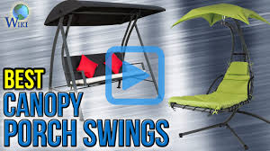 Folding Chair With Canopy Top by Top 7 Canopy Porch Swings Of 2017 Video Review