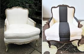 How To Reupholster A Wingback Armchair Inspiring Furniture Restoration Projects From Blah To Rad