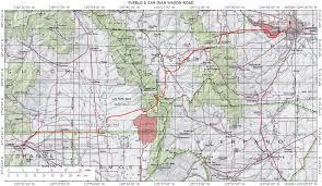 Map Of Pueblo Colorado by Roads Routes To New Mexico Arizona Texas California