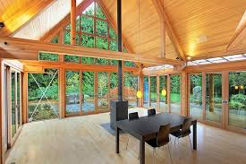 mountain home interior design cabin chic mountain home of glass and wood