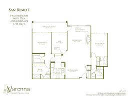 San Remo Floor Plans Floor Plan Gallery U2013 Varenna At Fountaingrove