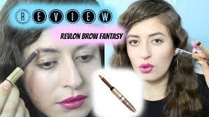 revlon brow fantasy light brown review revlon brow fantasy youtube