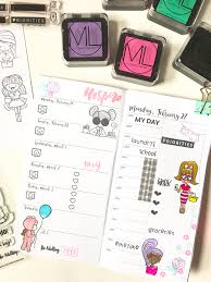 diy stickers using mommy lhey stamps by ml cece