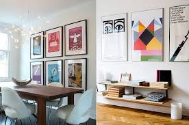 The beauty of decorating with posters