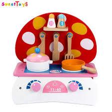 jouet cuisine en gros enfants en bois chignon forme jouet cuisine play set rôle