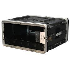 Audio Rack Case Cases Grr 4pl Us 4u Rolling Audio Rack Powered