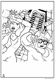 scooby doo coloring pages 38 magic color book