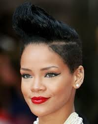 short black hair styles that have been shaved 9 best mohawk hairstyles for african american women images on