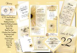 printable wedding invitation kits wedding invitations