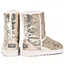 womens flat boots australia ugg silver sparkle s flat boot
