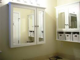 recessed medicine cabinet with lights bathroom recessed medicine cabinets no mirror cabinet parts in for