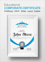 28 best certificate designs free u0026 premium templates
