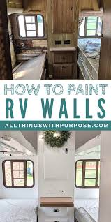 what is the best paint for rv cabinets how to paint the interior walls of an rv tips and advice