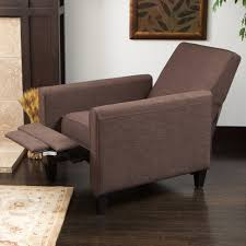 furniture modern black recliner chair slipcover cool recliner