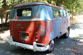 volkswagen hippie van name 1960 volkswagen original paint double door camper van panel van
