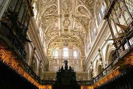 Church Ceilings Ceiling Of Catholic Church In Center Of Mosque Seville Spain