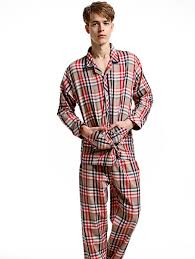 fleece pajamas mens family clothes