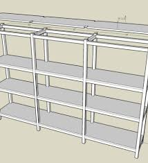 woodwork wooden basement shelves plans pdf plans building
