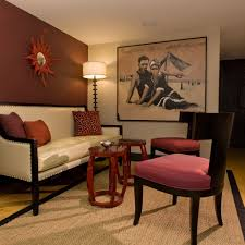 Modern Small Living Room Ideas Extraordinary Different Colored Walls Decorating Ideas Images In