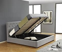 platform king bed with storage bonners furniture