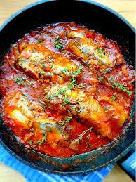 cuisine mauricienne rougaille de pilchards les fameux harengs en conserve un