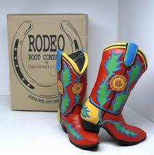 2 department 56 dept 56 ornaments rodeo boot company