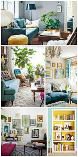 Modern Vintage Home Decor Eclectic Modern Vintage Colorful Living Rooms Interiors