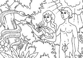 adam and in the garden of coloring pages 100 images adam and