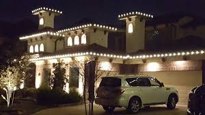 How To Install Outdoor Lighting christmas light installation houston