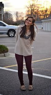 best 25 burgundy leggings ideas on pinterest how to wear
