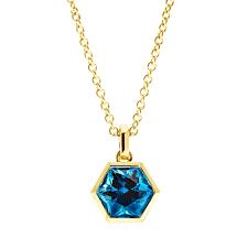 necklace with topaz images Birks bee chic blue topaz necklace birks jpg