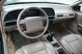 Taurus Sho Interior Bat Exclusive 1991 Ford Taurus Sho Plus Bring A Trailer